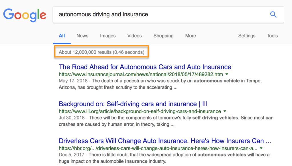 autonomous driving and insurance